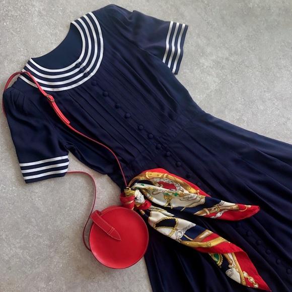 Plaza South Dresses & Skirts - Vintage Sailor Dress